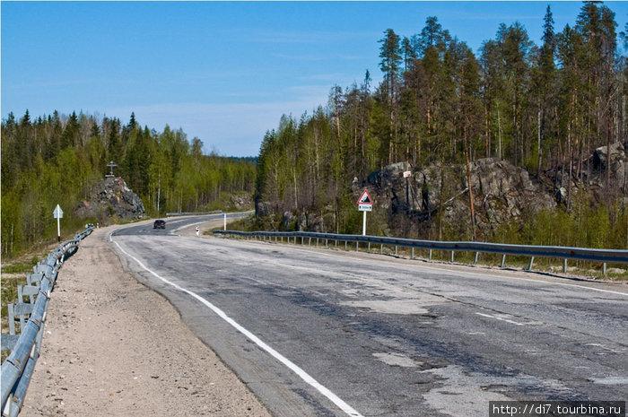 На подъездах к Медвежьегорску