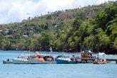 Рыбацкие лодки у причала