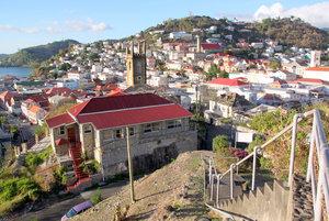 Вид на город с форта