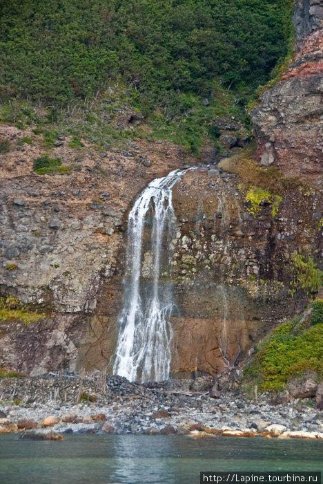 Термальный водопад Камуивакка