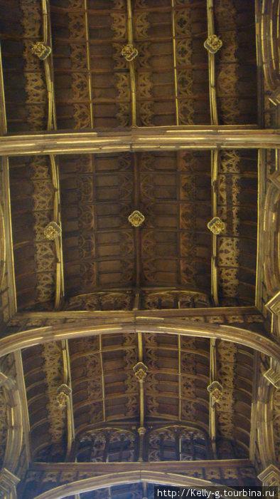 Потолок Большого зала