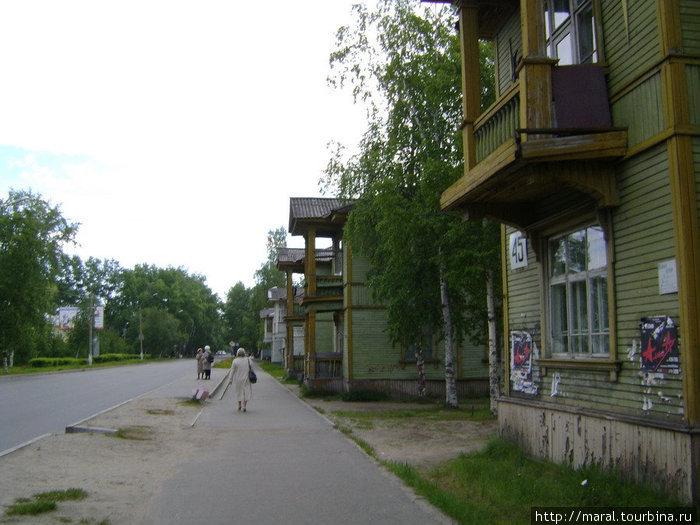 Старый город. Советская улица