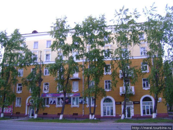 Старый город. Проспект Ленина