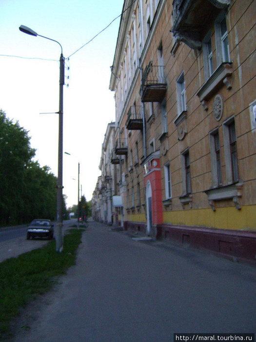 Старый город. Первомайская улица