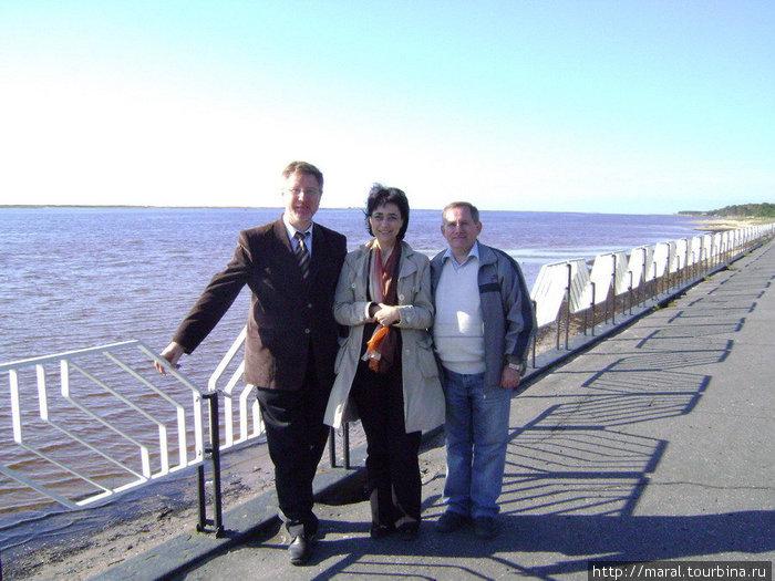 Набережная городского микрорайона Ягры с видом на Белое море — место для променада северодвинцев