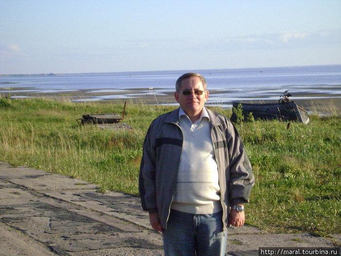 Остров Ягры. А вот и я у самого Белого моря