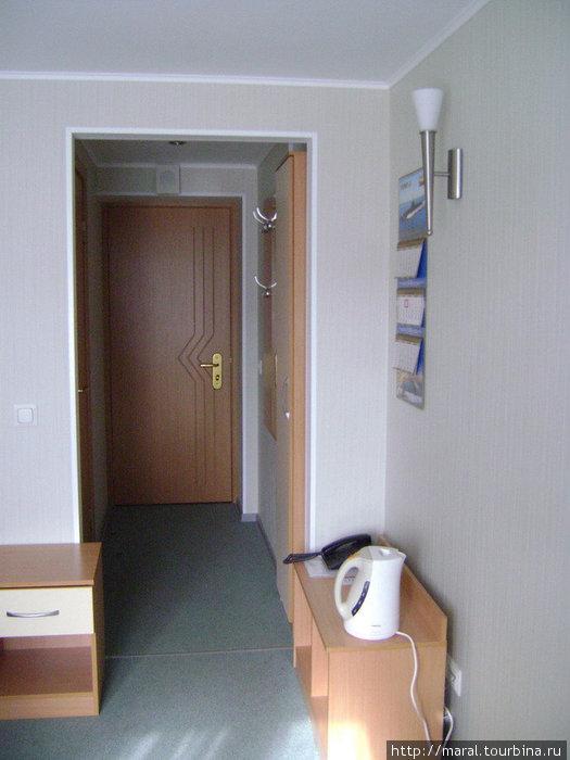 Одноместный гостиничный номер