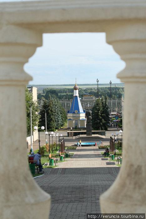 Вид с горки. Рузаевка, Россия