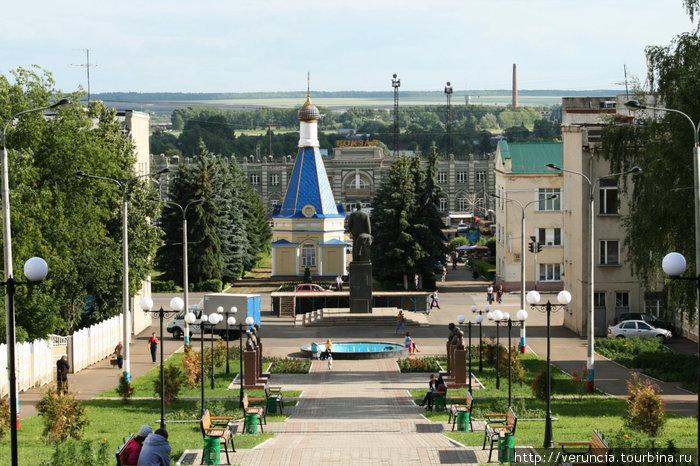 Рузаевская горка — улица