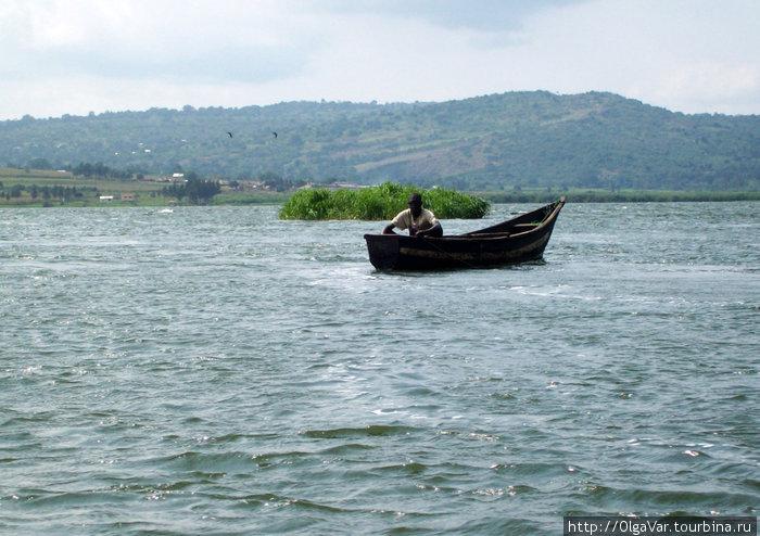 На озере Виктория