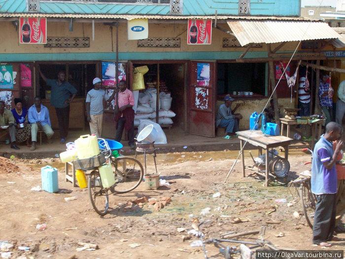 Торговая жизнь Уганды