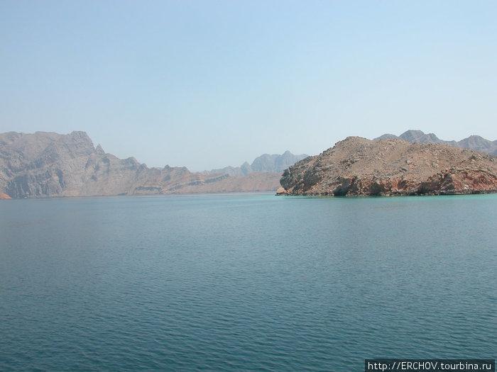 Круиз по мусандамским фиордам Регион Мусандам, Оман
