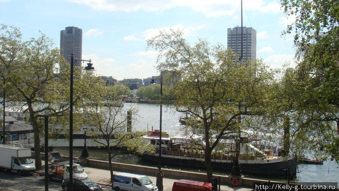 Вид на Темзу от Сомерсет-хауса