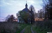 Деревни-деревни-деревни, серые избы и брошеные церкви.