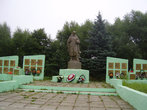 29.08.2009. Борисоглебский. Аллея Славы Героев ВОВ