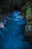 Голубые реки на перевале Хааст.