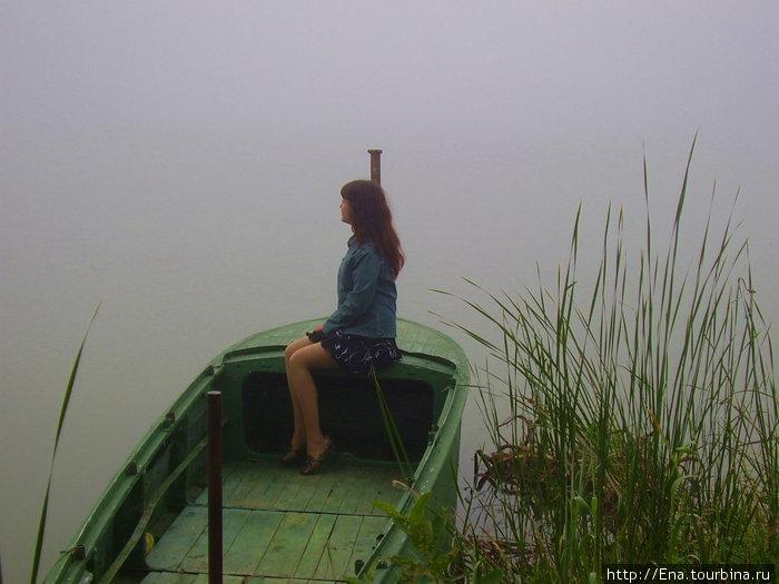 Ростов Великий. Август. Утро. Туман. Озеро Неро. В ожидании...