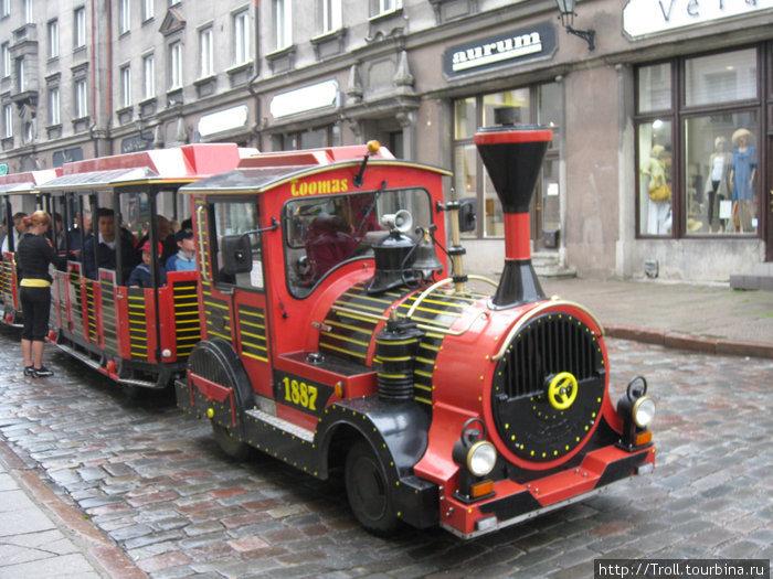 Экскурсионный паровозик / Toomas the Train