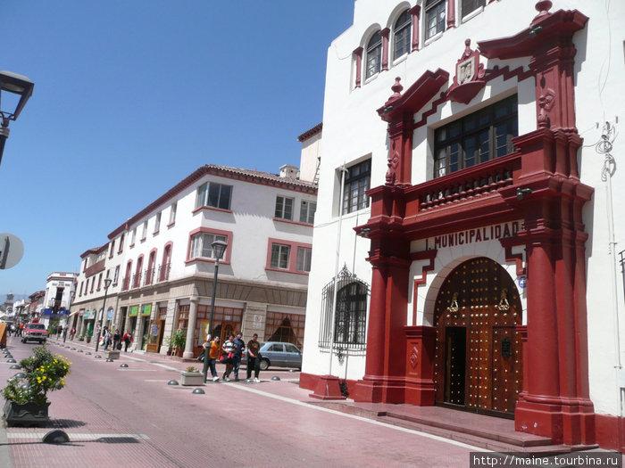 Ла-Серена- уютный город и по его улицам было приятно погулять.Мы провели здесь две ночи.