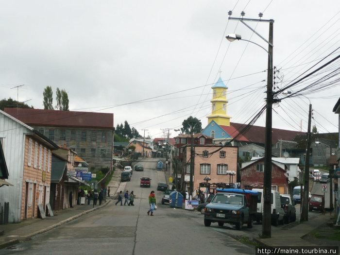 Чончи -городок на  архипелаге Чилое.