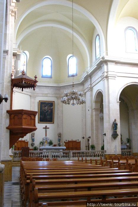 Католическая церковь в христианском квартале Алеппо