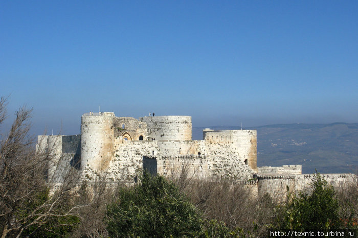 Крак-де-Шевалье aka Hosn Castle