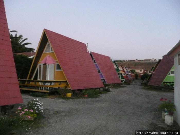 Наш хостал в Ла-Серена 30 долл.где мы провели две ночи.