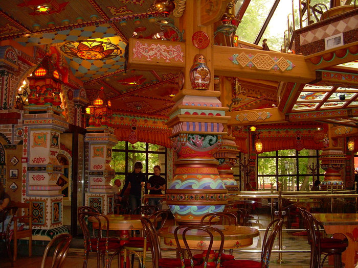 фото кафе в русском стиле фото