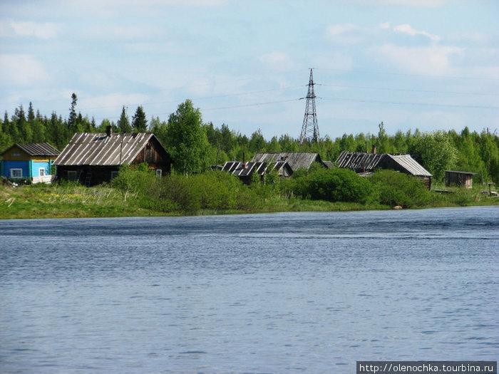 небольшие рыбацкие поселки