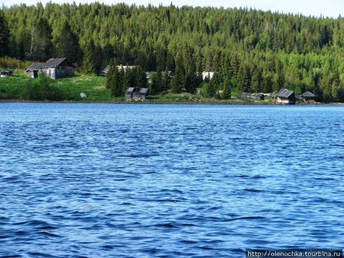 деревня Кереть перед Белым морем