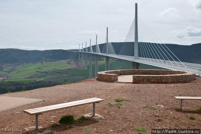 Виадук Мийо - самый высокий мост Мийо, Франция