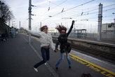 Вокзал, с которого скоростные электрички отправляются в Дублин