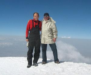 Без помощи Павла не сбылась бы моя мечта: подняться на вершину Арарата.