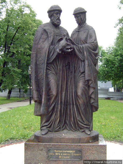 Пётр и Феврония Муромские милы сердцу ярославцев
