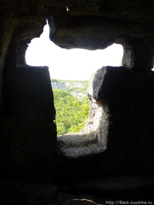 Многоярусные искусственные пещеры внутри и снаружи. На корову похоже:)