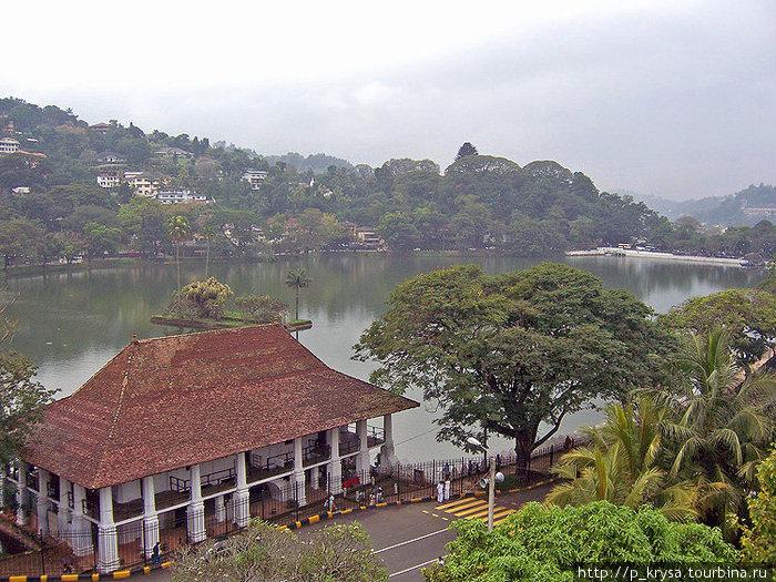 Озеро Канди. Рядом с храмом Зуба Будды.