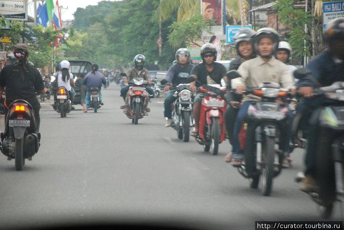 основной транспорт Бали