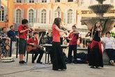 Выступление молодежного музыкального оркестра Грасса