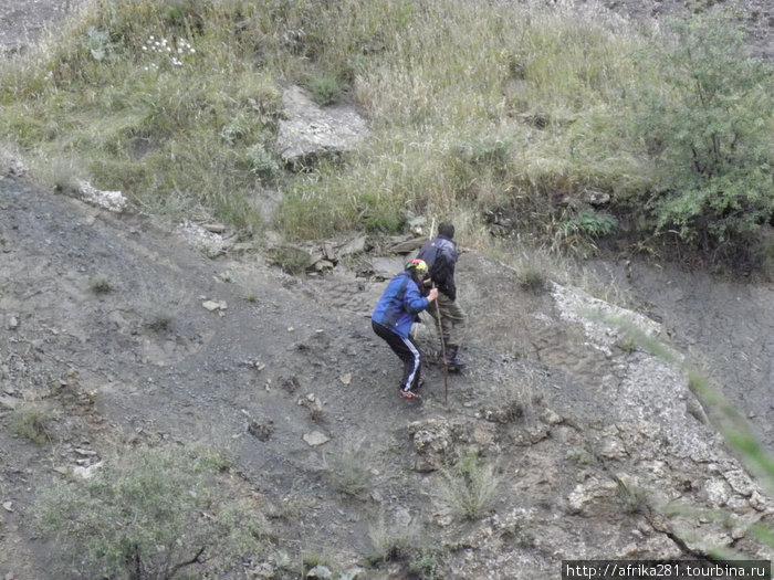 Ползем в горы