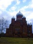 Казанский собор на Горушке в декабре