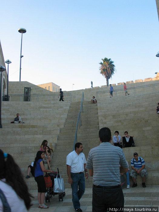 Выход к Яффским воротам