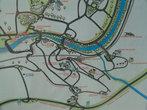 карта города — центральная часть