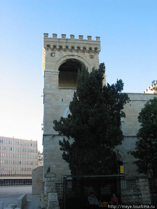 бывший итальянский монастырь