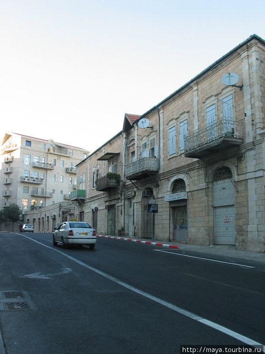 возвращаемся на улицу Шавтей Исраэль