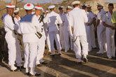 Моряки при полном параде