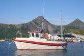 Традиционное норвежское рыбацкое судно