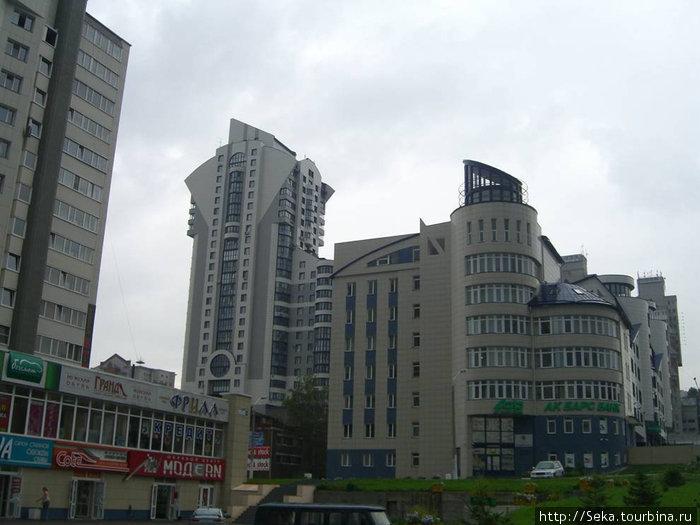 Примеры современной архитектуры