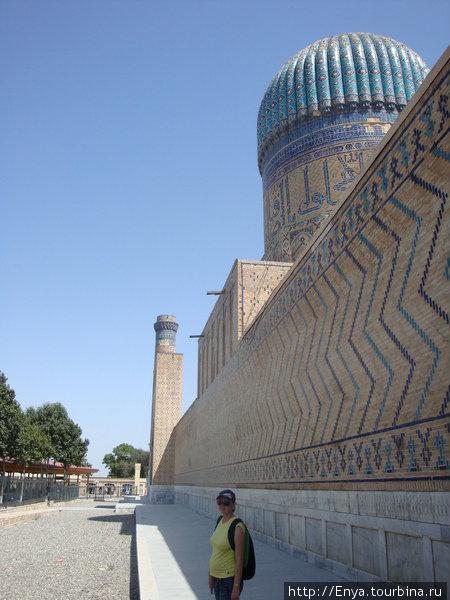 Самарканд. Мечеть Биби Ханум.