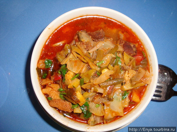 Самарканд. Ресторан уйгурской кухни.