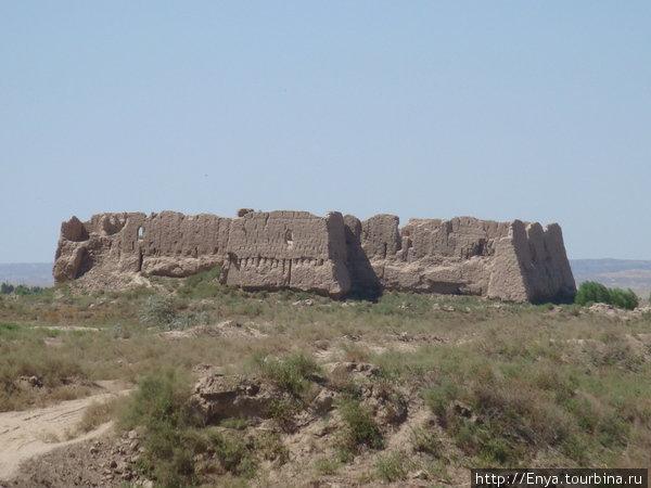 Руины древних городищ Хорезмского ханства. Кизил-Кала.